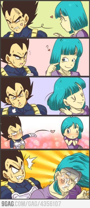 It's really deadly to love a Saiyan