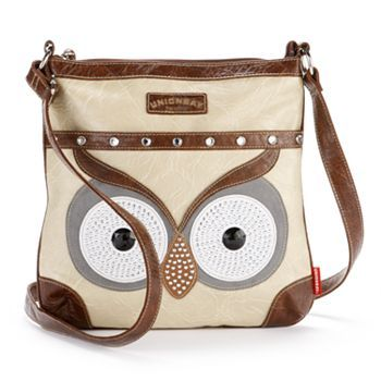 Owl Crossbody Bag Pinned by http://www.myowlbarn.com http://fashionbagarea.blogspot.com/  We can spot a chanel clutch from a mile off. Those golden studs are set perfectly against the chic tan shade.$159 Want!