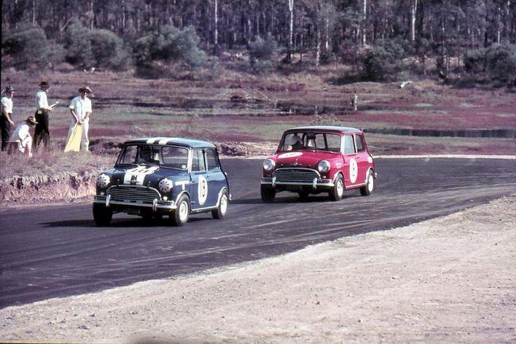 1964 ATCC - Classic 60's racing between a pair of Cooper S Mini's Tasmania