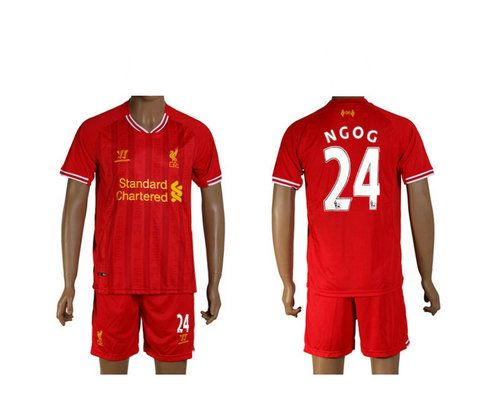 Maillot de Foot Liverpool (24 Ngog) Domicile Warrior Collection 2013 2014 rouge Pas Cher http://www.korsel.net/maillot-de-foot-liverpool-24-ngog-domicile-warrior-collection-2013-2014-rouge-pas-cher-p-2365.html