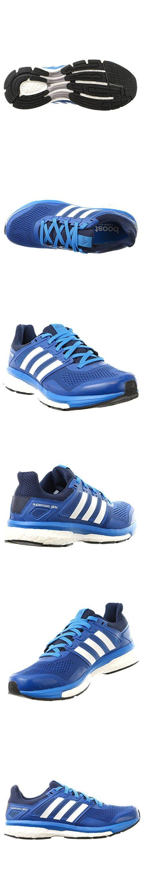 Adidas Supernova Glide 8 Running Shoe - Men's EQT Blue/White/Collegiate Navy, 9.5