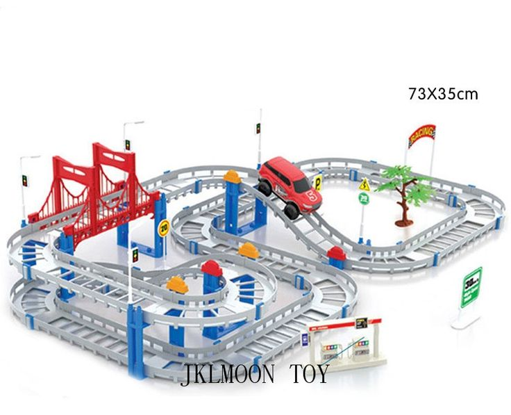 11.99$  Buy now - http://aligzi.shopchina.info/go.php?t=32793298201 - Kids Multilayer Electric Rail Car Construction Vehicles Toy Assembled Train Track Building Blocks Educational Toys Gift 11.99$ #bestbuy