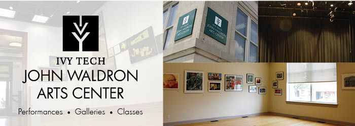 The Ivy Tech John Waldron Arts Center houses a unique blend of artists, performers, and educators. At the Ivy Tech Waldron, you can see a play, catch a concert, cruise multiple art galleries, and even sign up to take art classes.