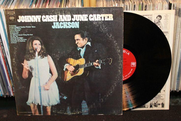 Johnny Cash June Carter Jackson Lp Columbia 1967 Rare