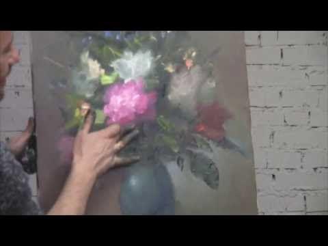 """FREE! Full video """"seminar flowers"""" painter Igor Sakharov - YouTube"""