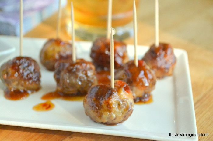 Between now and the New Year I'm dedicating my Fridays to cooking... http://theviewfromgreatisland.com/2012/09/its-five-oclock-somewhere-friday-bourbon-meatballs.html