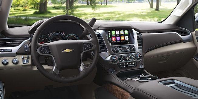 2018 Suburban Suv Interior Photo Dashboard Chevrolet Tahoe