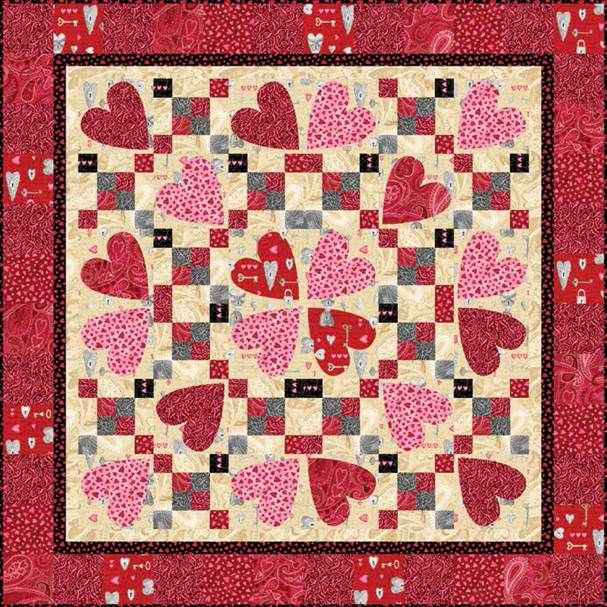 58 best quilts-Valentines images on Pinterest   Table runners ...