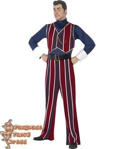 Lazy Town Robbie Rotten Costume