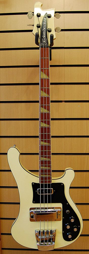 Rickenbacker 4001 bass! Would LOVE to have a broken one of these to customize to look like Haruko Haruhara's!
