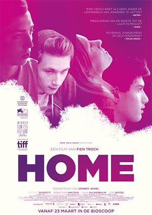 'Home' vertelt het verhaal van Kevin, een 16-jarige puber die net vrijkomt uit een gesloten instelling. Aangezien thuis wonen geen optie meer is, zoekt en vindt hij onderdak bij zijn tante en haar gezin. Hij probeert zijn leven opnieuw op de rails te krijgen, maar worstelt om op het rechte pad te blijven.