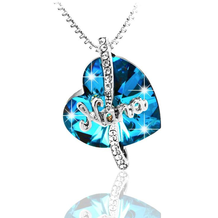 "💙 Now on Amazon! Great gift for all grandmothers. ""You Never Outgrow Your Nana"" Swarovski Heart Pendant Necklace. BONUS: Receive a FREE pair of crystal stud earrings with every purchase. CLICK to get yours today!   #SwarovskiNecklace #GiftsForNana #GiftforGrandmother #GiftforGrandmothers #GrandparentsDay Amazon.com: Best Gifts for Mom, Grandmother, Birthday Gift, Christmas, Hanukkah Gift. ""Nothing Like a Mother's Love""  ""You Never Outgrow Your Nana"" Swarovski Heart Pendant Necklaces…"
