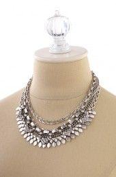 Silver Necklace   Stella & Dot