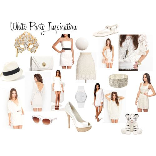 White dress code pictures