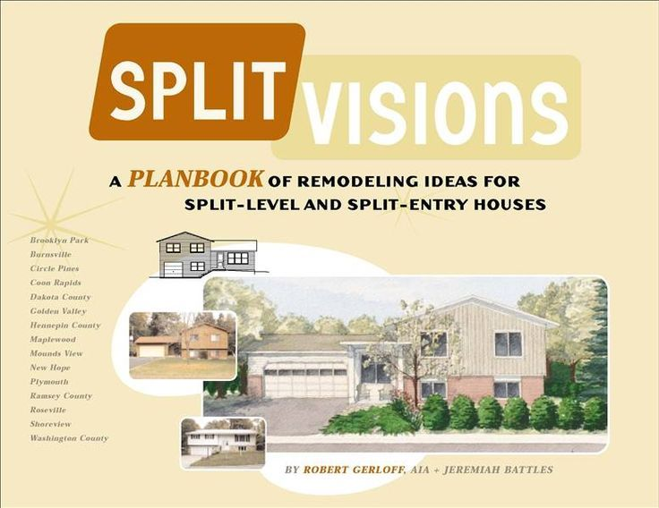 Split level remodel before and after split visions for Adding an addition to a split level home