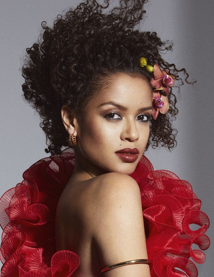 EDITORIAL: Gugu Mbatha-Raw in Vogue UK April 2018 by Mikael Jansson — The Wonder of Gugu — Photography: Mikael Jansson,   Model: Gugu Mbatha-Raw,   Styling: Kate Phelan,   Hair: Eugene Souleiman,   Make-Up: Hannah Murray.