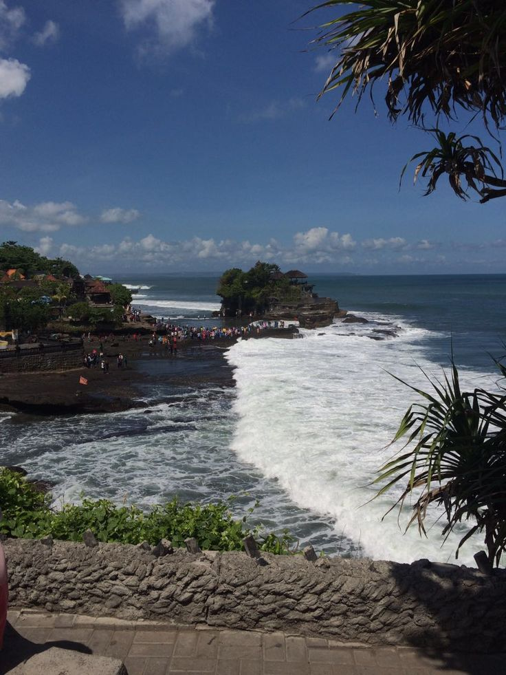 Tanah Lot from a distance