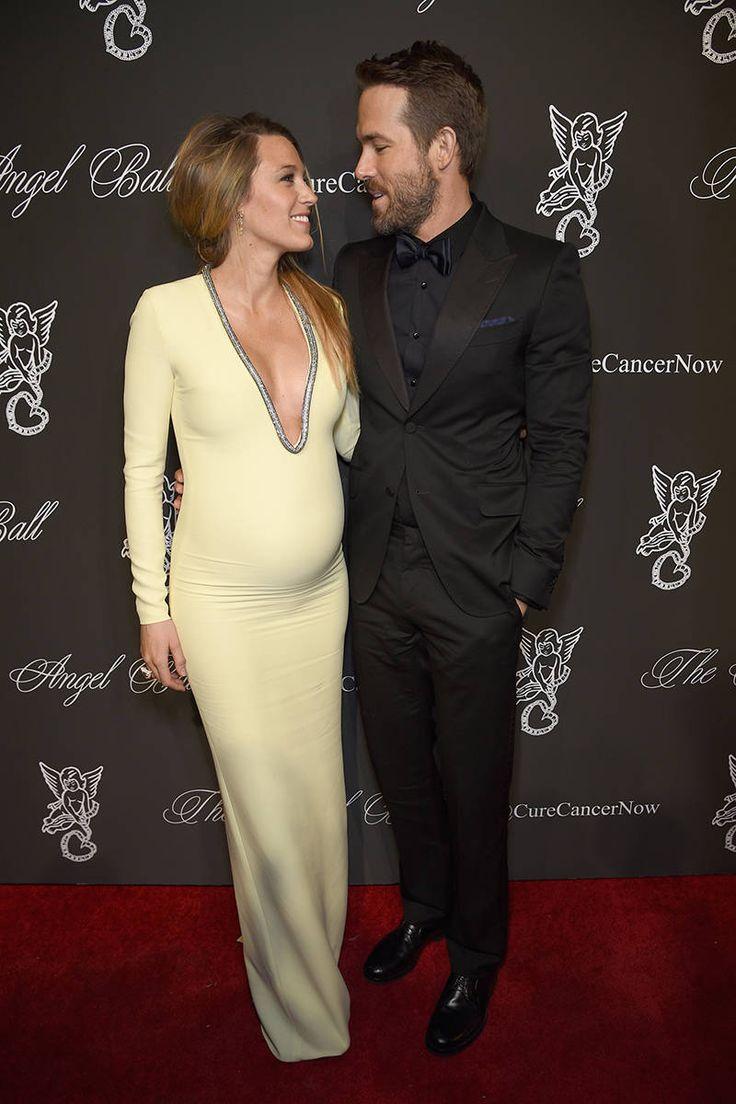 A History of Ryan Reynolds gazing loving at Blake Lively - ELLE