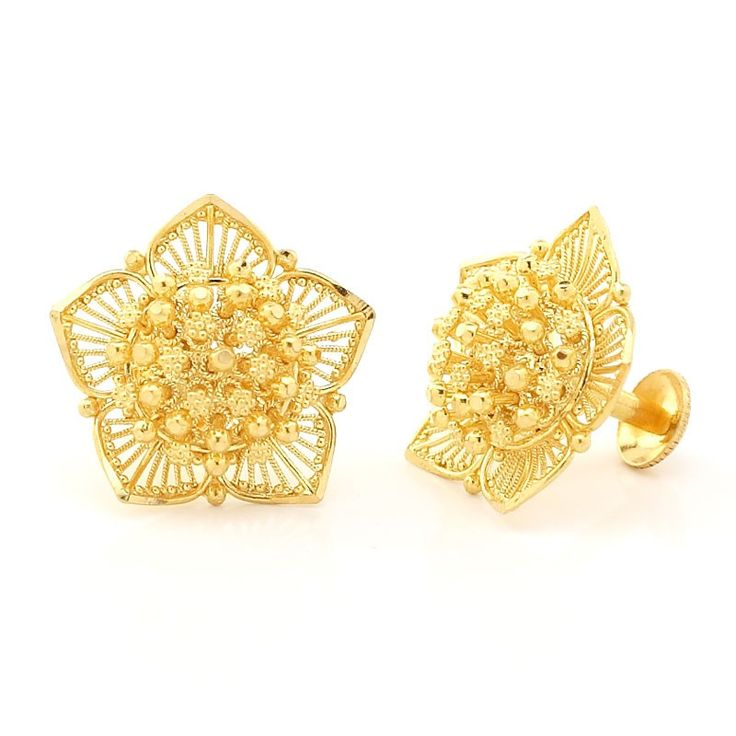 Lotus Stud Earrings | | GRT Jewellers