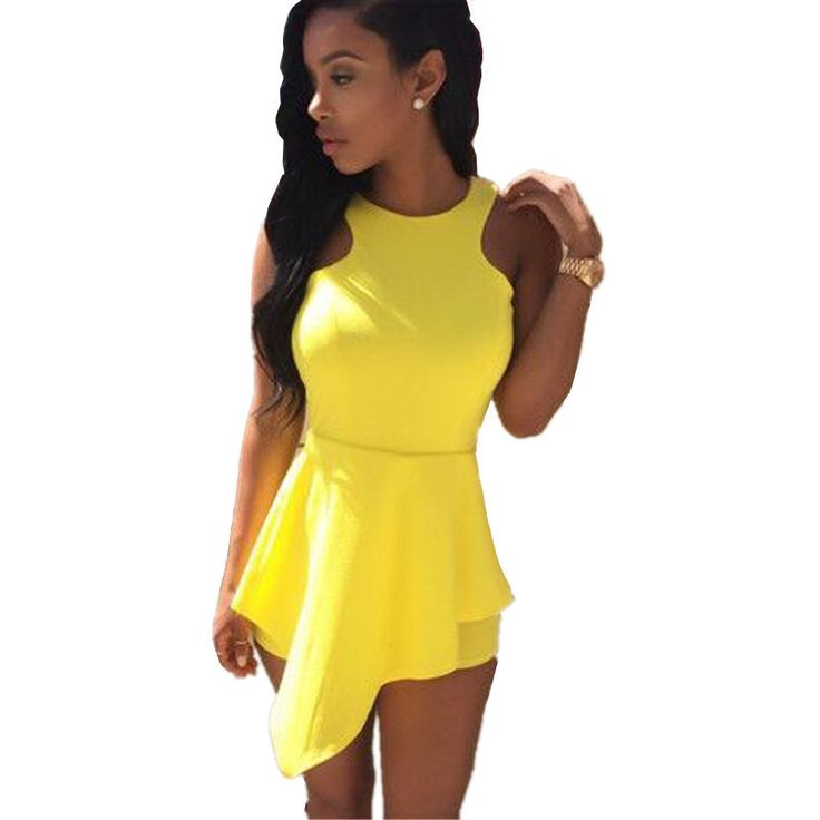 Cool Yellow Womens Romper Jumpsuits Amp Playsuits By TheBraidedBandit