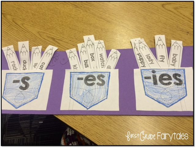FREEBIE! Working with Plural Nouns