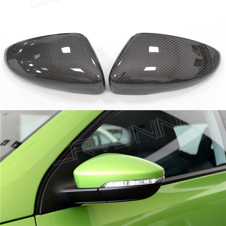 58.00$  Buy now - http://alijwt.worldwells.pw/go.php?t=1617239393 - For Volkswagen VW Scirocco CC Passat Jetta 2010- 2016  Without  LaneAssit  Carbon Fiber Mirror 1:1 Replacement or Add On Covers 58.00$