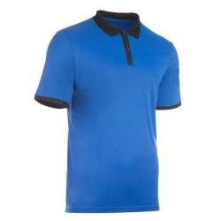 POLO HOMME SOFT BLEU TENNIS BADMINTON TENNIS DE TABLE PADEL SQUASH ARTENGO