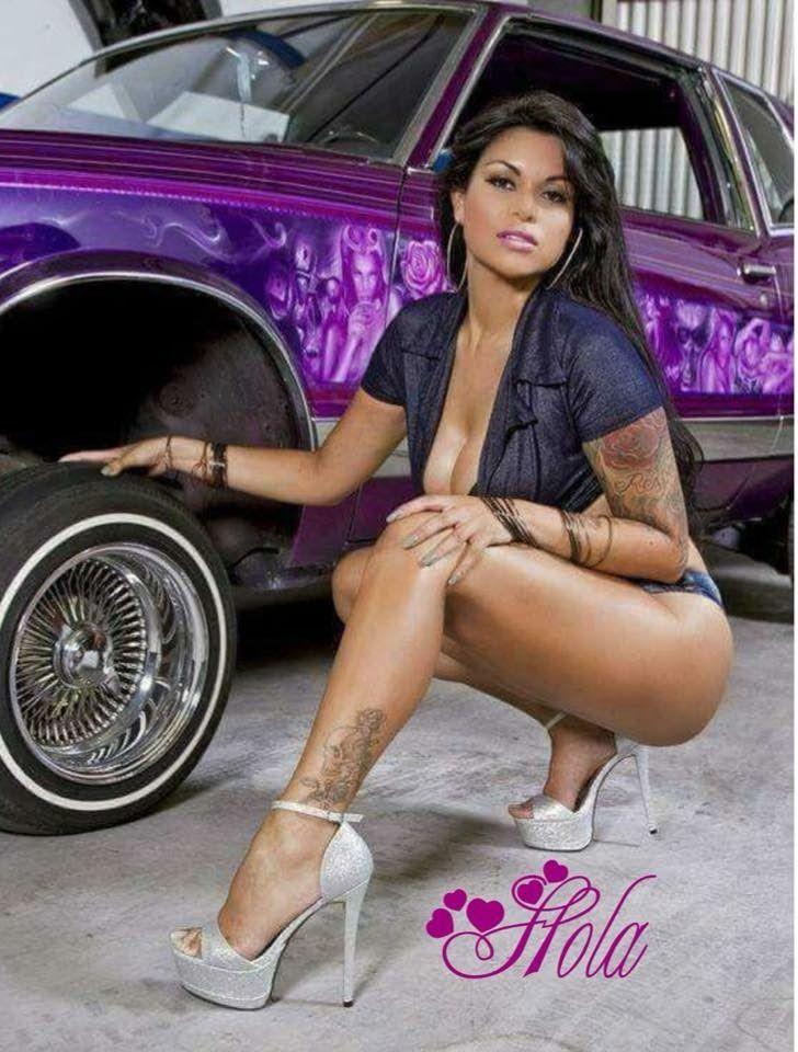 Latina Riding Dick The Car