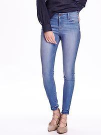 Old Navy Mid-Rise Rockstar Skinny Jeans (similar)