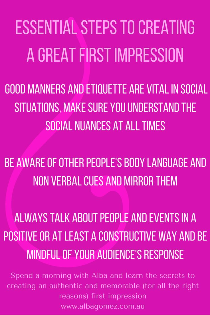 Learn the secrets to creating the RIGHT first impression at my WOW NOW Personal Brand Workshop.