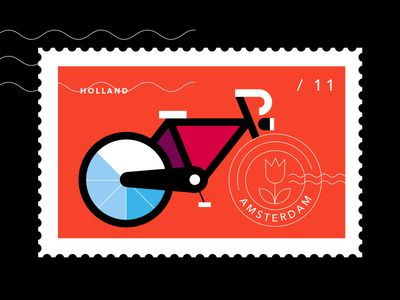 Postcards from Amsterdam / Bicycle
