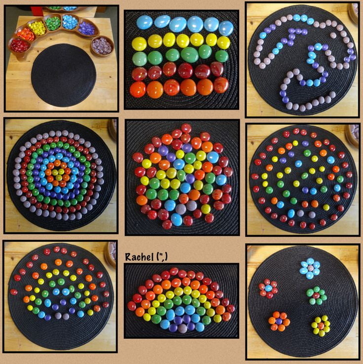 """Patterns with rainbow colours from Rachel ("""",)"""