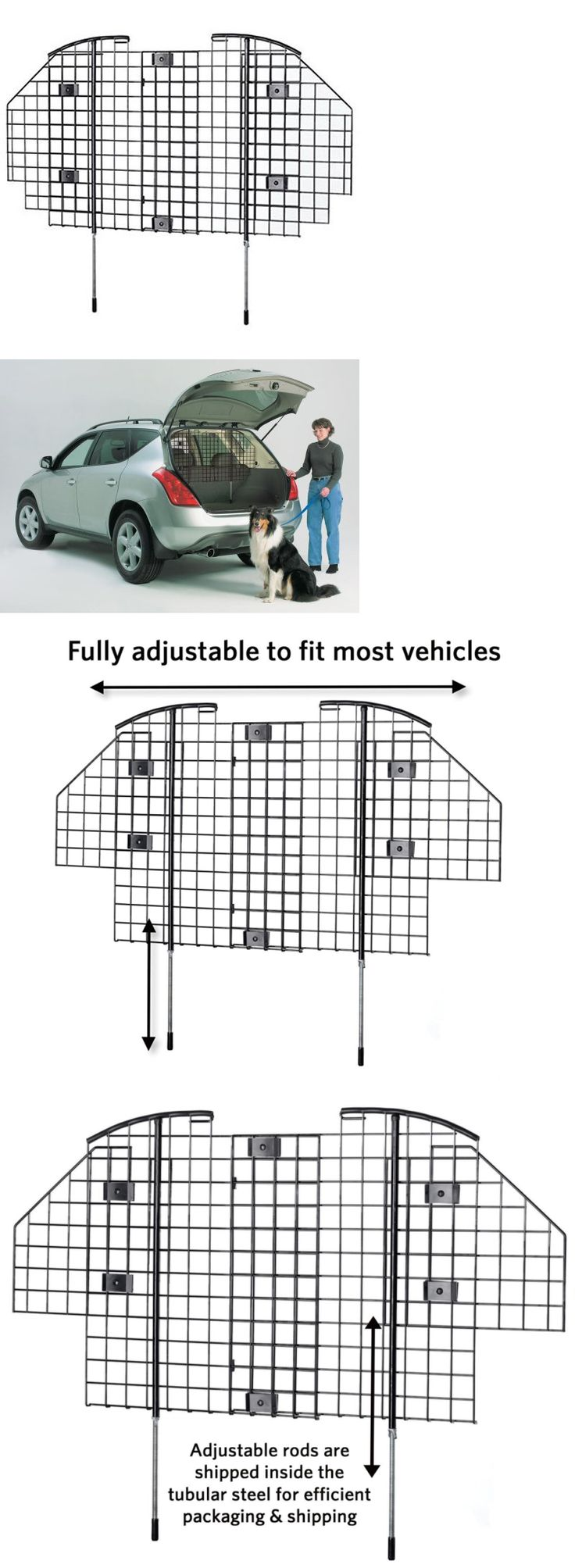 Car Seats and Barriers 46454: Midwest Pet Dog Car Barrier Guard Automotive Safety Protect Suv Vehicle Travel -> BUY IT NOW ONLY: $58.49 on eBay!