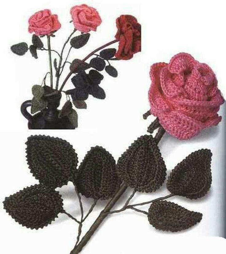 81 besten Häkelblumen Bilder auf Pinterest | Blumen häkeln ...