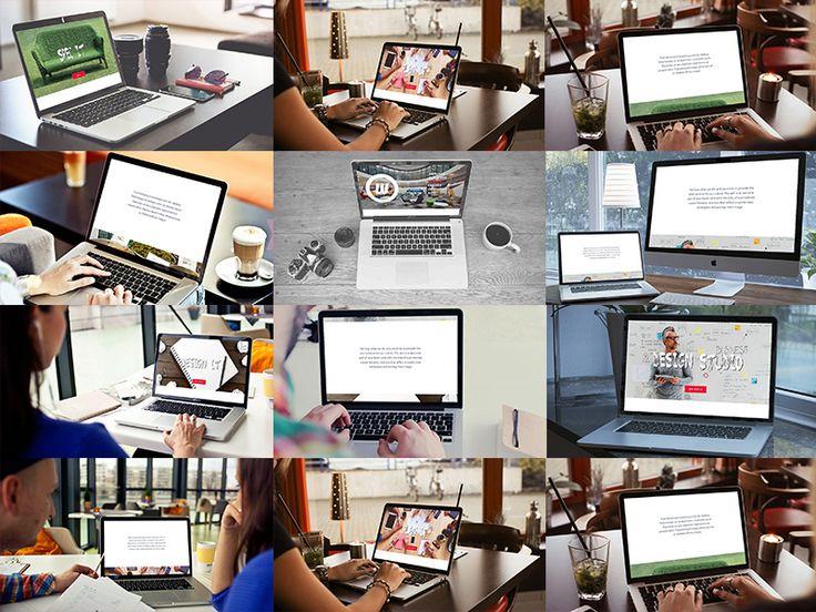 10 MacBook Mockups