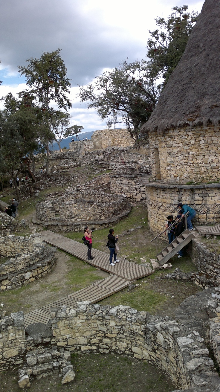 housing in Kuelap, Amazonas Peru