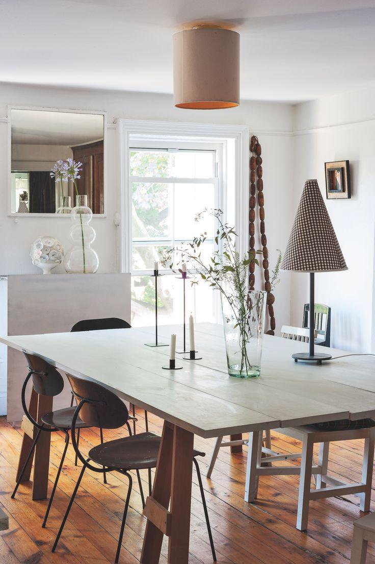 Artist Designer Corinne Gilberts Dining Room