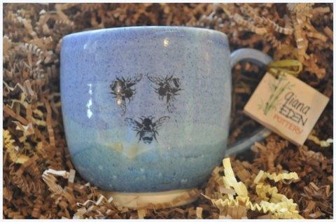 Three Bee Mug from Savannah Bee Company