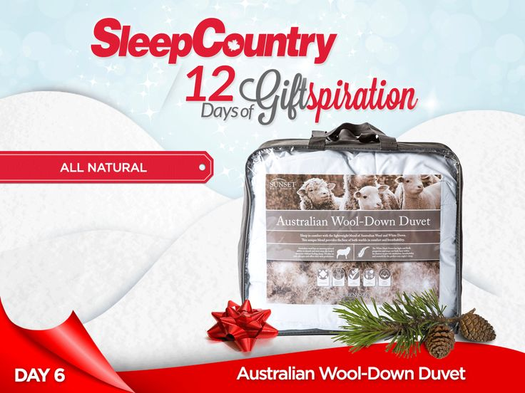 Day 6: Our Awesome Australian Wool-Down Duvet