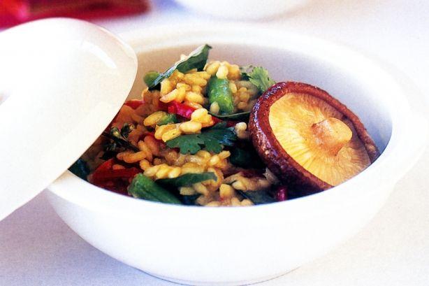 Asian Risotto (low |Recipe Ideas|Risotto Recipes