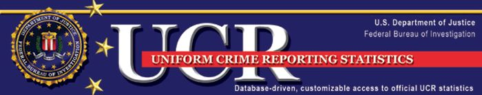 The FBI has gathered crime statistics from law enforcement agencies across the Nation that voluntarily participate in the Uniform Crime Reporting(UCR) Program since 1930. These data have been published each year, and since 1958, have been available in the publication Crime in the United States (CIUS). As a supplement to CIUS, the FBI, in cooperation with the Bureau of Justice Statistics, provides this site that allows users to build their own customized data tables.