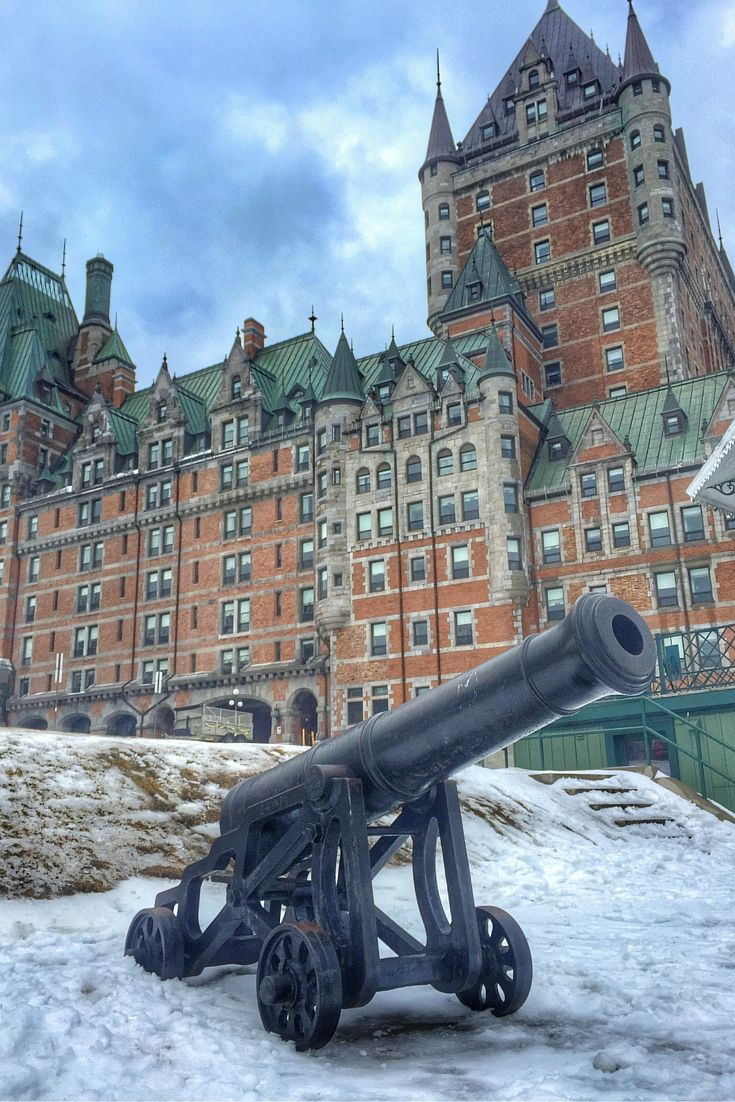 Hurtling down a sled track, eating maple taffy, celebrating Winter Carnival and exploring Vieux-Quebec are some of the fun winter activities in Quebec City, Canada.