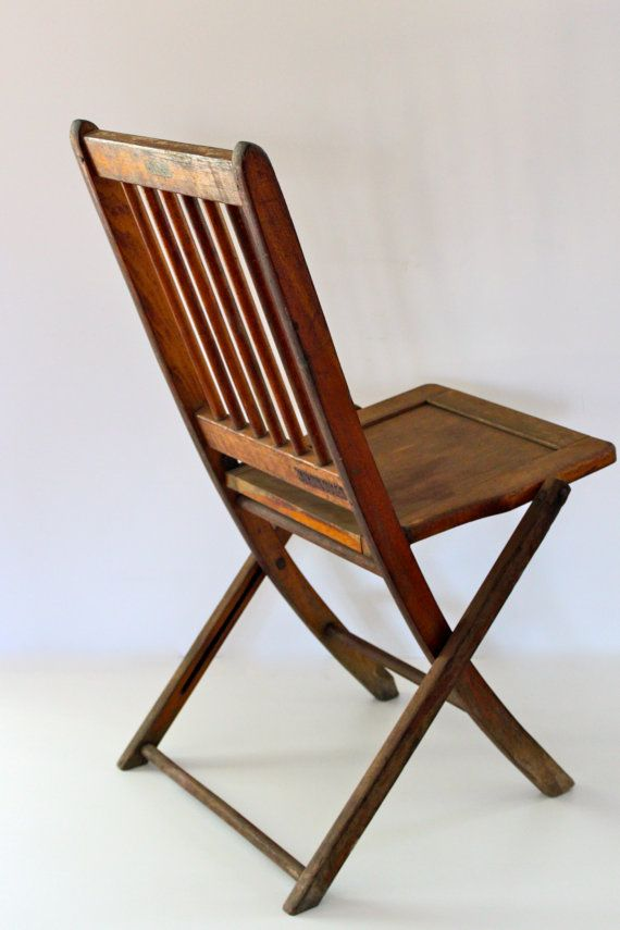Antique Classic Wooden Folding Chair by vintagewall on Etsy, $60.00 | Farm  house | Pinterest | Wooden folding chairs, Folding chairs and Chair pictures - Antique Classic Wooden Folding Chair By Vintagewall On Etsy