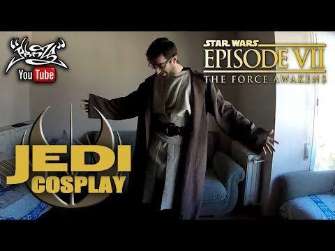 TUTORIAL Traje JEDI (STAR WARS) - YouTube