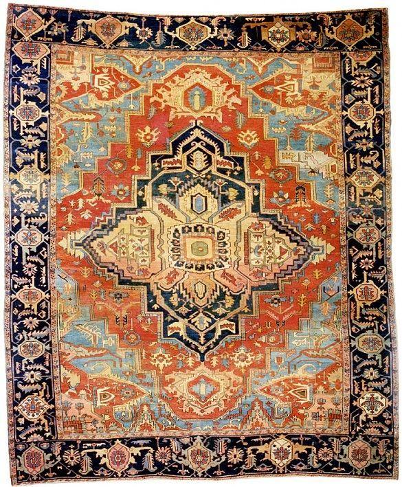 Serapi 10 9 X 13 Circa 1880 Northwest Persia Ref No 215