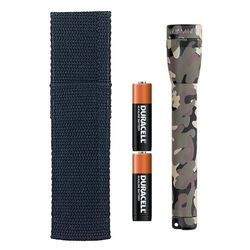 Maglite Mini-Mag Flashlight AA Blister Pack Universal Camo Pattern - M2AMR6
