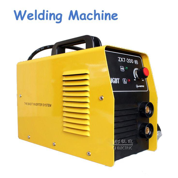 220V New Welder Copper Core Portable Household Inverter DC Manual Arc Welding Machine Single-phase ZX7-200DI