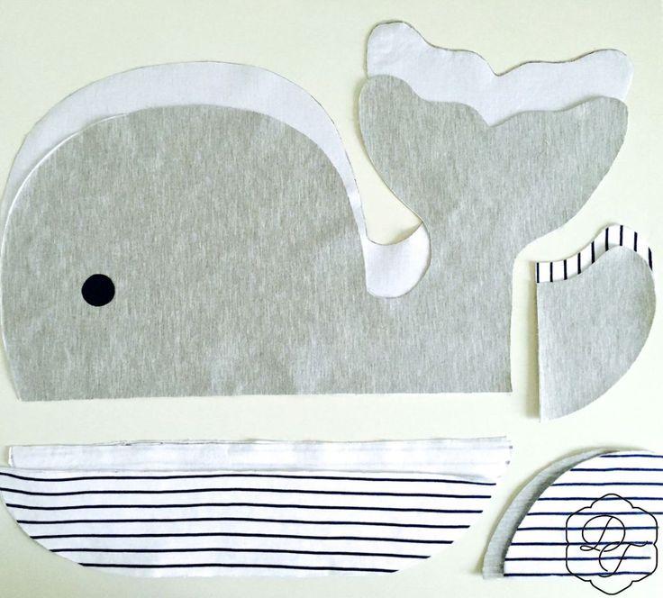 Wunderschöner Wal!   – couture bébé