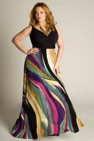piniful.com plus size long maxi dresses (03) #plussizefashion