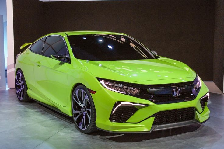 2016 Honda Civic Coupe Concept - http://top2016cars.com/2016-honda-civic-coupe-concept/